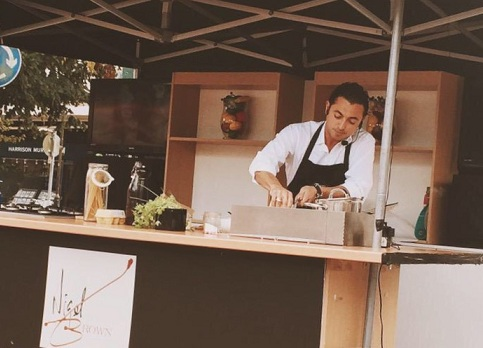 My Cooking Demo at Harpenden & St. Albans Food Festival 2015
