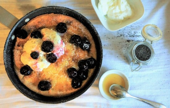 Dutch Baby Pancake – How to make baked pancakes for Harrisons Fund Charity