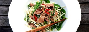 Vietnamese Beef Salad by Theo Michaels Masterchef, Thai Beef Salad
