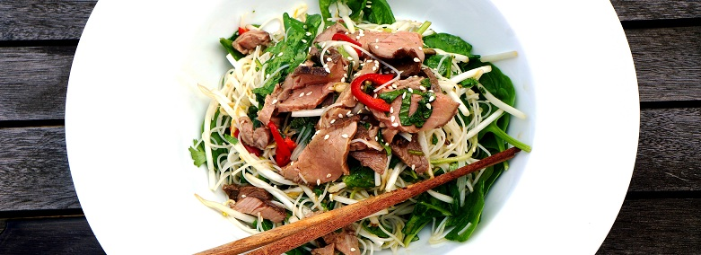 Thai Beef Salad | Summer of Love Thai Beef Salad Recipe