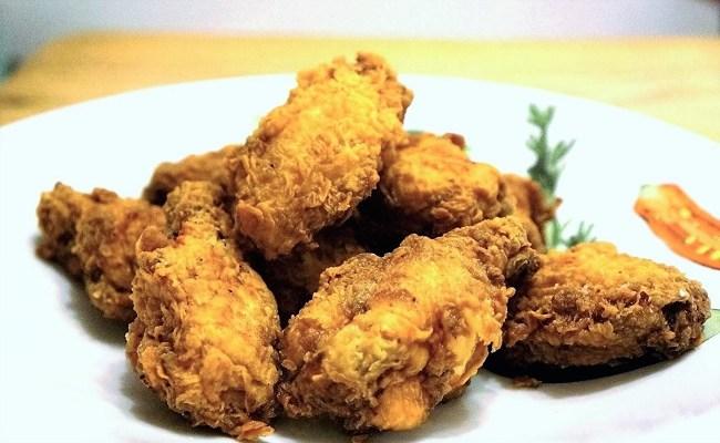 Fried Chicken Wings Recipe – watch my video to make crispy fried chicken wings