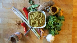 Mild Curry Paste Recipe by Theo Michaels