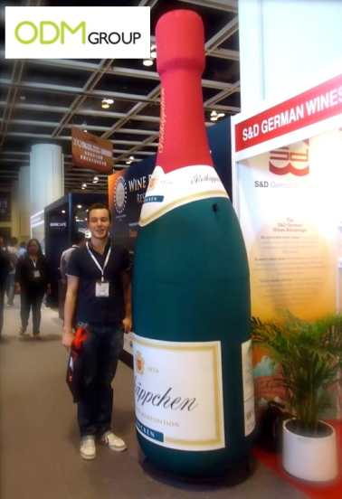 The Showy Promotional Item – Inflatable Wine Bottle