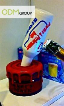 Drinks Industry paint pot bottle glorifier