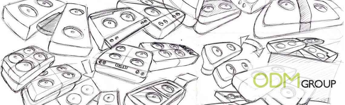Product Development Sketches