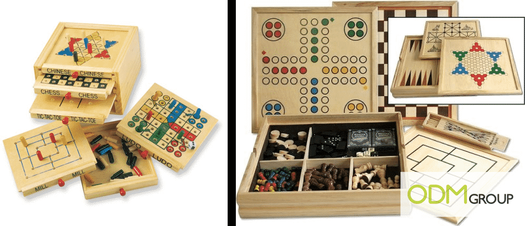Promotional Toys - Multi Board Game Box