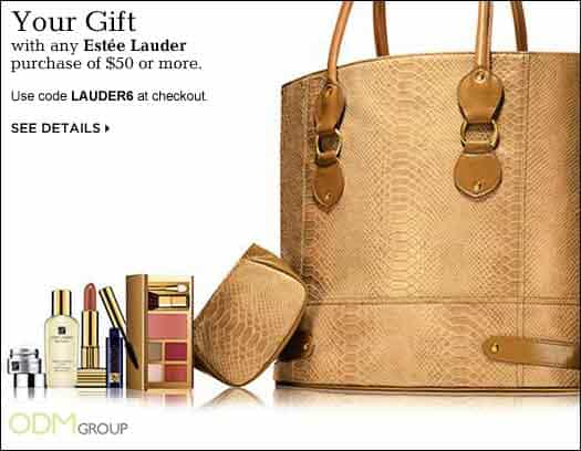 Stylish Estée Lauder Promotional Gift Bag Set