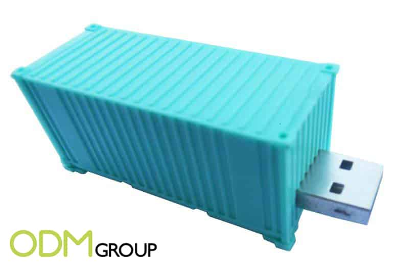 Transport Marketing: Shipping Container USB