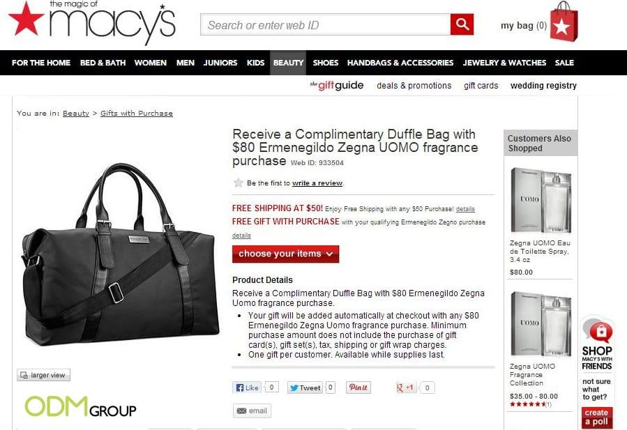 Custom Duffel Bag by Ermenegildo Zegna