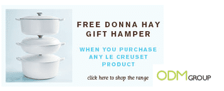 Gift with purchase: Donna Hay Gift Hamper