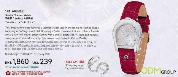 Marketing gift Keyring with watch