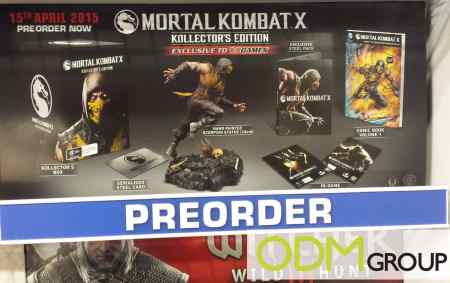 Mortal Kombat X - Promotional Game Set