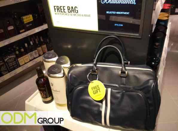 Promo Gift Bag at Hong Kong Airport