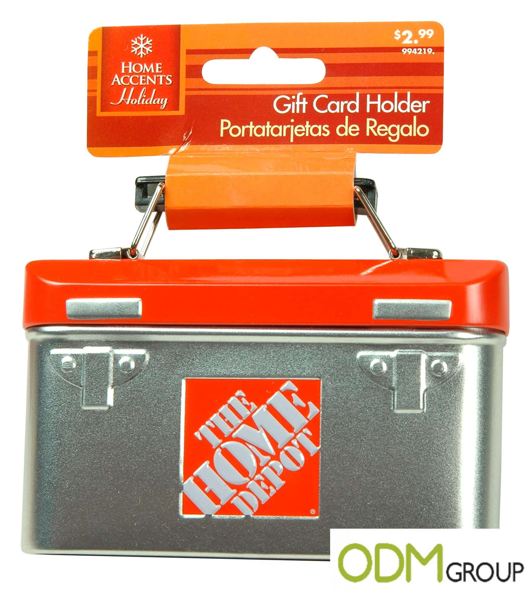 Home Depot: Innovative Gift Card Holders