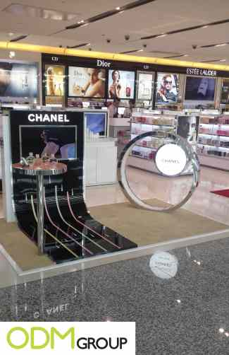 marketing display
