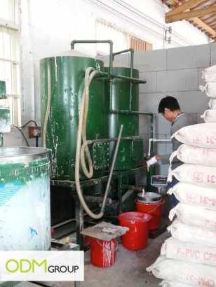 China Factory Visit Material Making