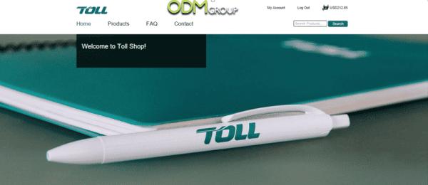 Toll website