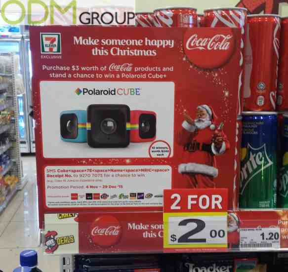 Promotional Giveaway: Coca Cola with Polaroid