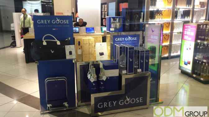 Grey Grey Goose In Store Display copy