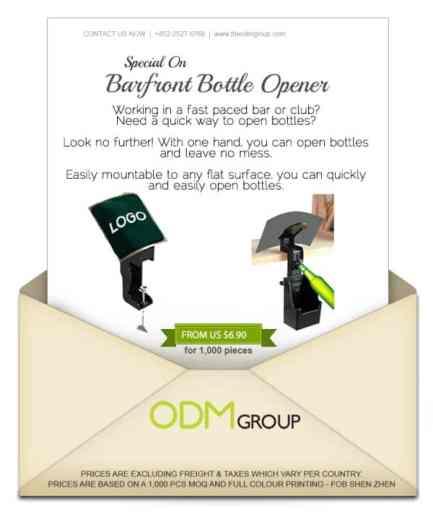 Barfront Bottle Opener Special Offer