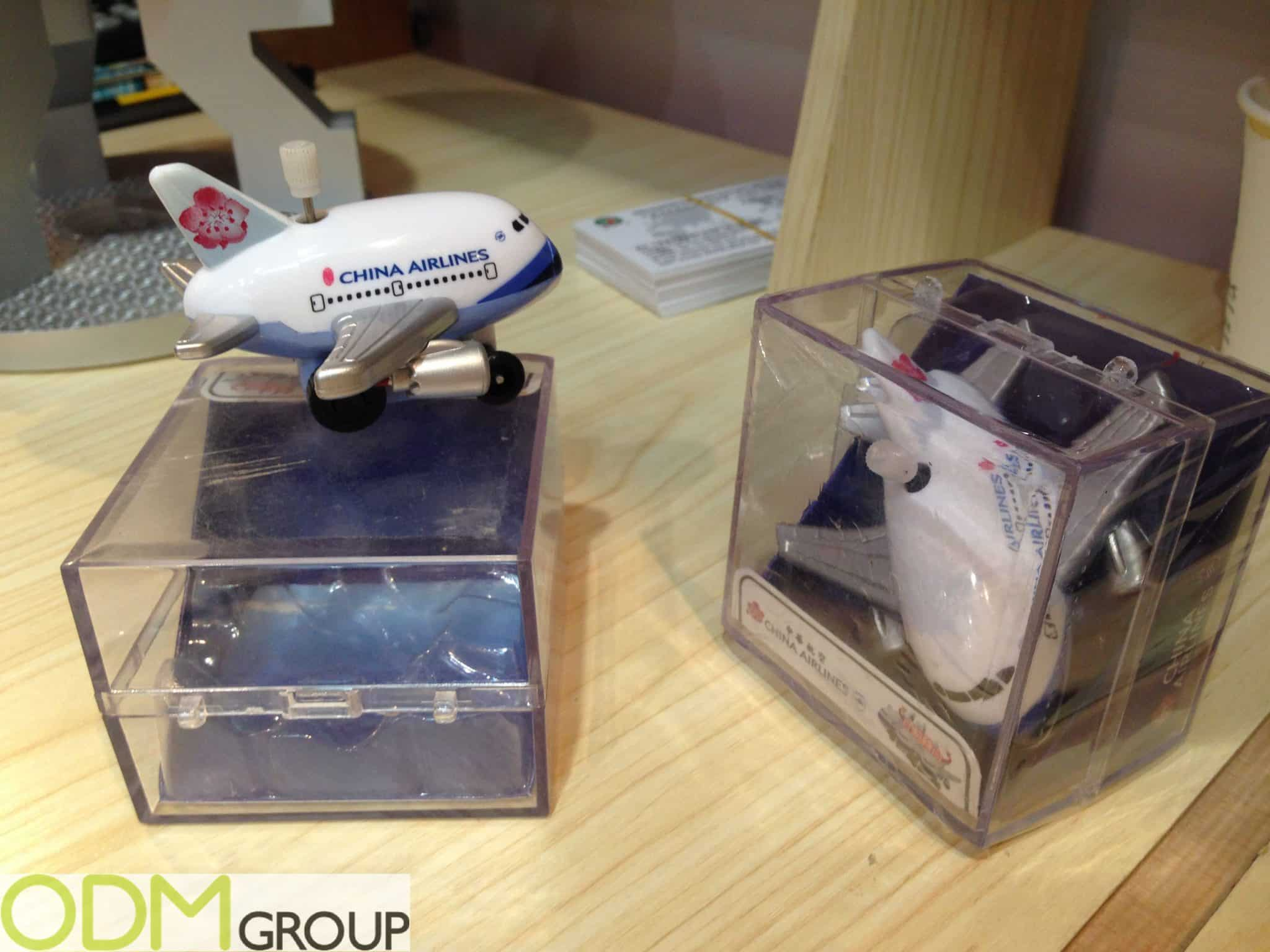 Custom Plastic Toys - Branded Merchandise for China Airlines