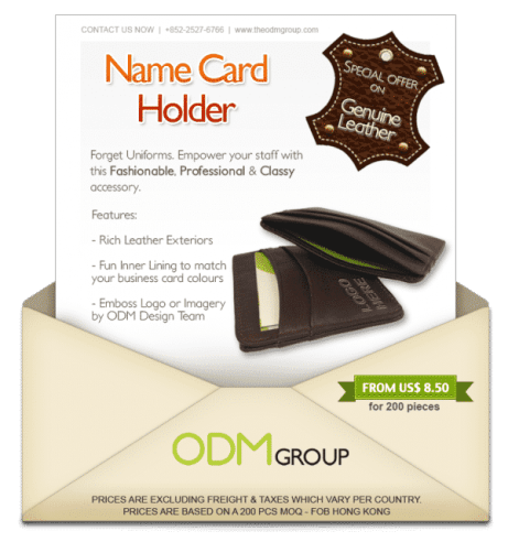 Leather High End Cardholders Special Offer