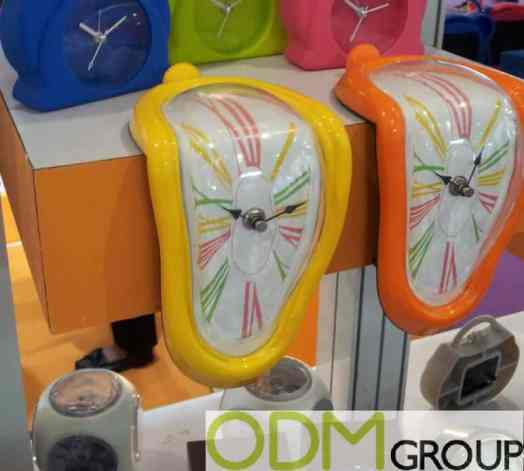 Melt Away Time with these Unique Promotional Clocks