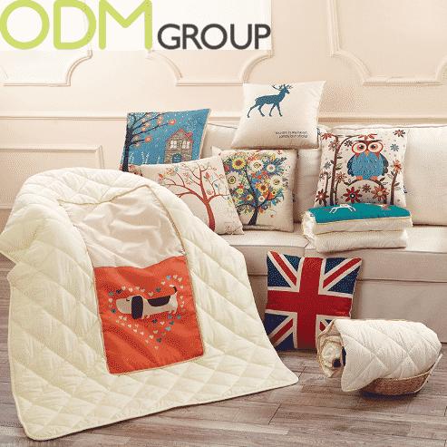 Houseware Promo Gift - 2-in-1 Foldable Blanket