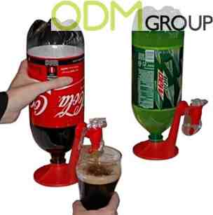 Kids Party Promotional Idea: Drinks Dispenser