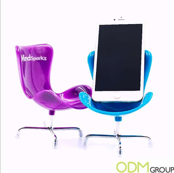 Branded Tech Promo- Chair Phone Holder