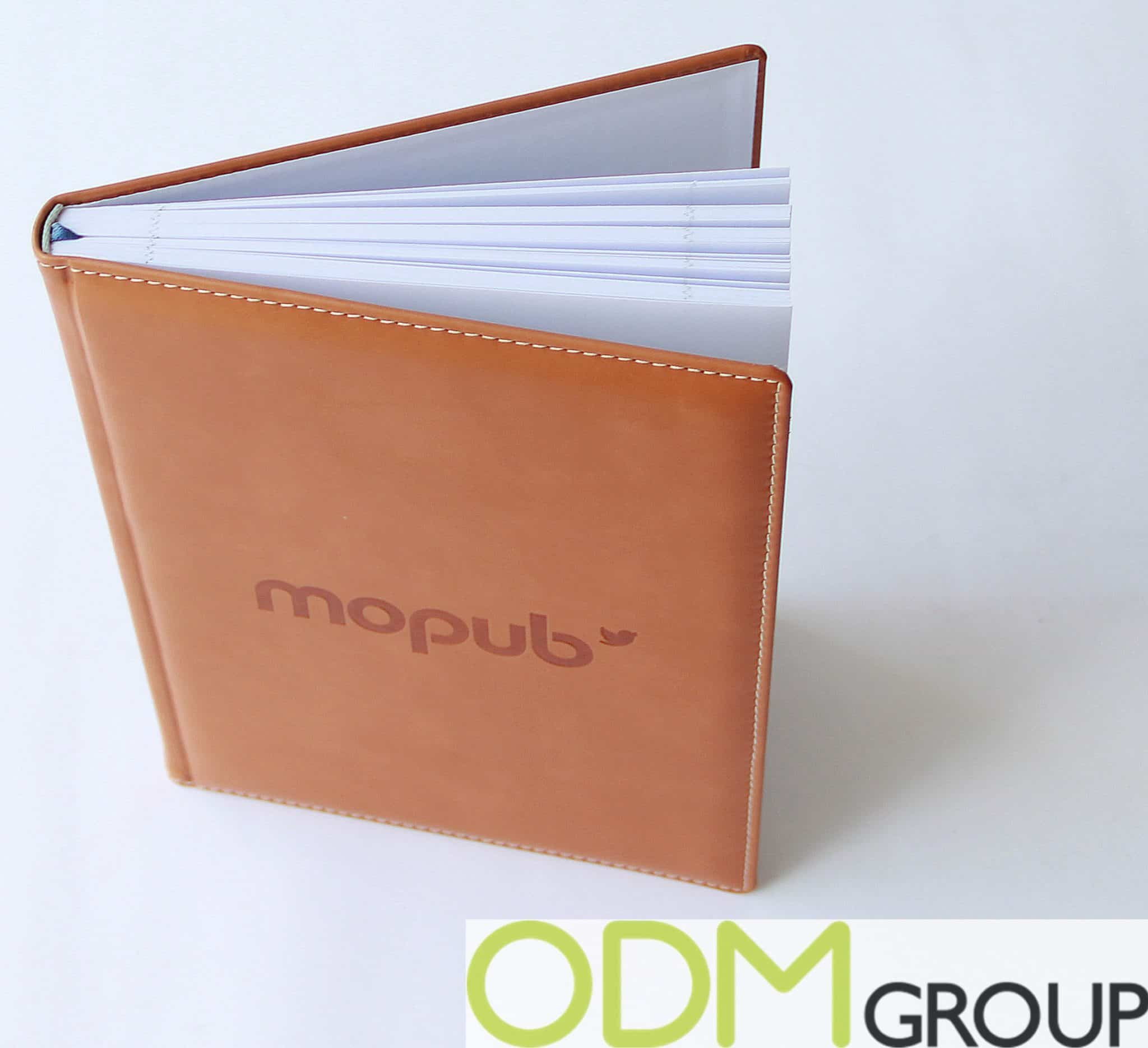 High-end Branded PU Notebook offered by Mopub