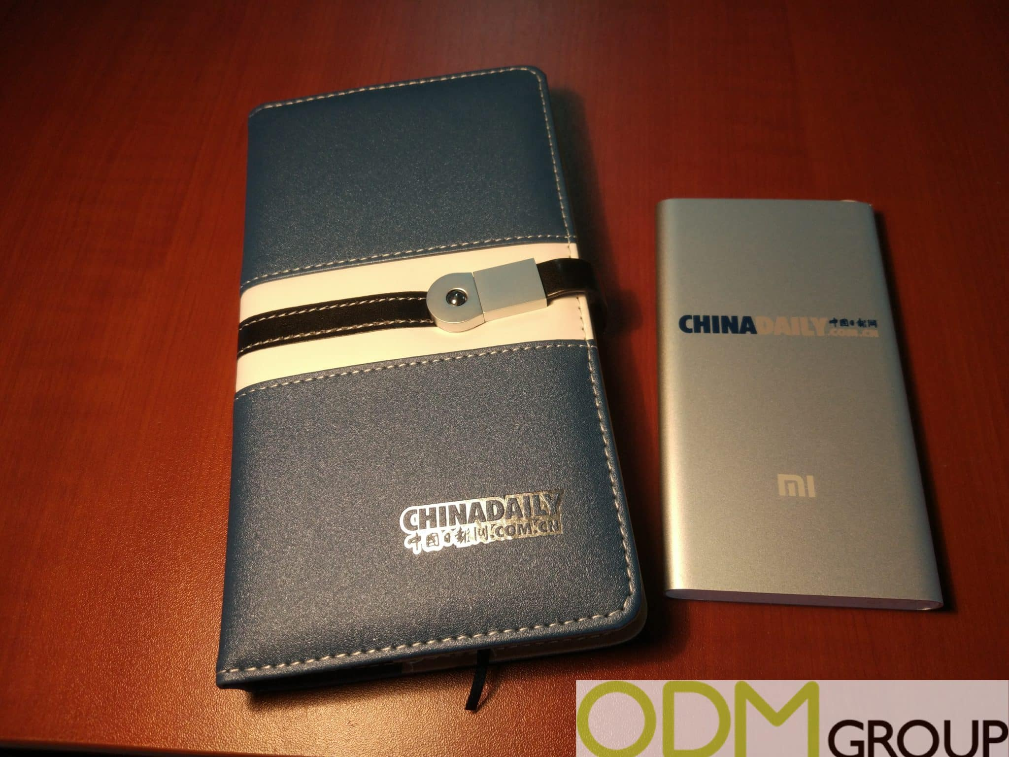 Competitive Promotion - Branded Notebook and Powerbank