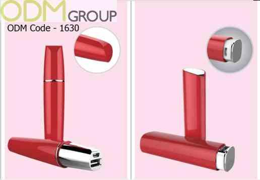 Unique Beauty Promo - Lipstick and Mirror Powerbank