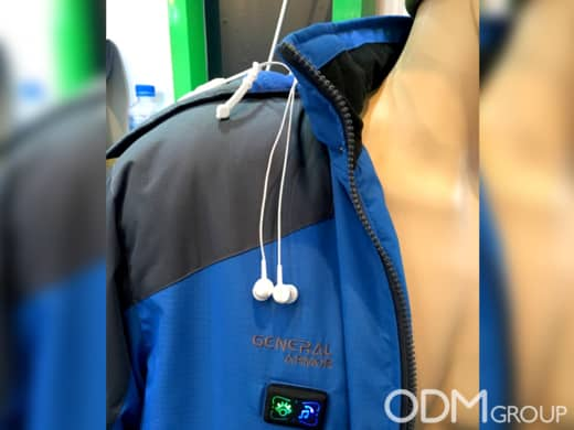 Smart Clothes - Heating Jacket