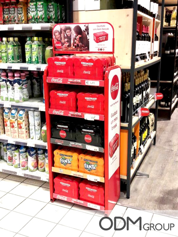 Coca-Cola POS Displays- A Creative Marketing Tool Idea