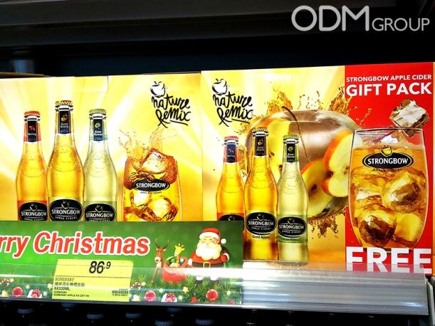 Promotional Cider Glasses by Strongbow - GWP in HK