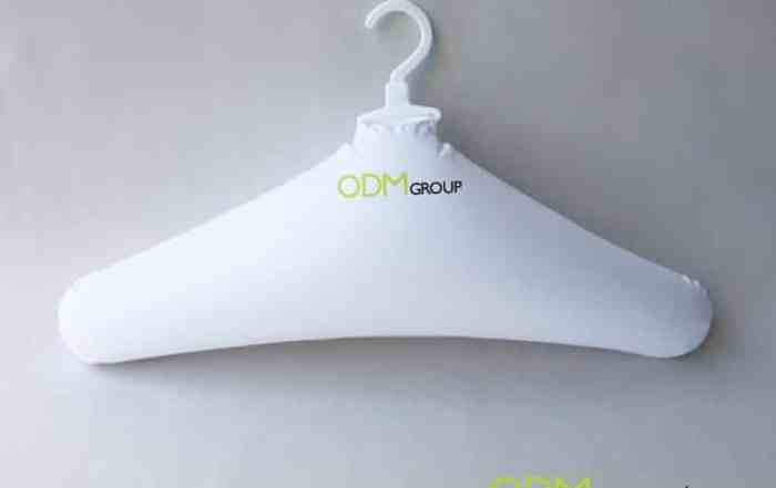 Branded Inflatable Clothes Hanger