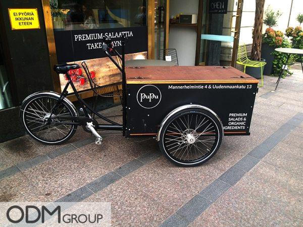 custom cargo bike manufacture