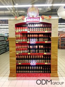 Exciting POS Display for Beer – Used By Krusovice