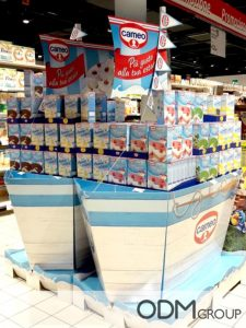 Cardboard POS Displays – 6 Fantastic Ideas from Italy