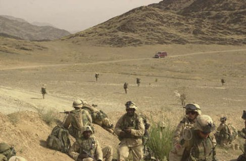 Afghanistan: like walking on the moon