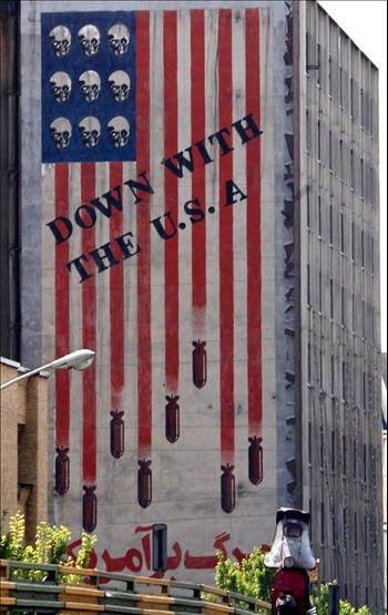 Down with the USA (Tehran)