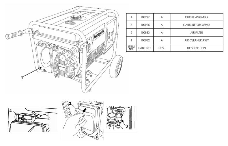 HW6200 Fuel System Parts