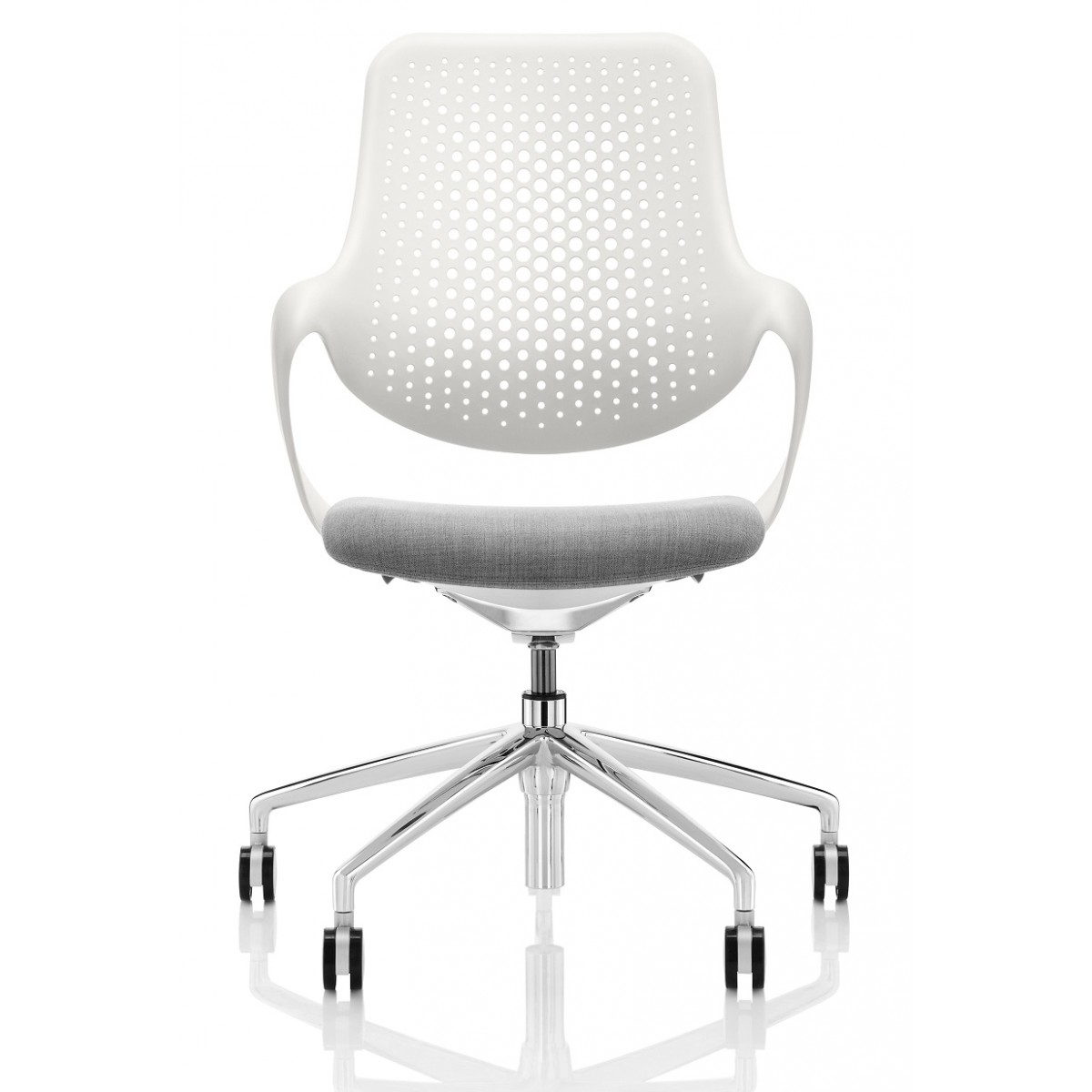 white desk chair no wheels uk humanscale boss design coza