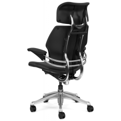 Ergonomic Chair Parts Electric Rocking Humanscale Freedom Executive With Headrest
