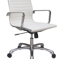 Modern Conference Chairs Outdoor Double Rocking Chair White The Office Leader Mid Back Contemporary Leather