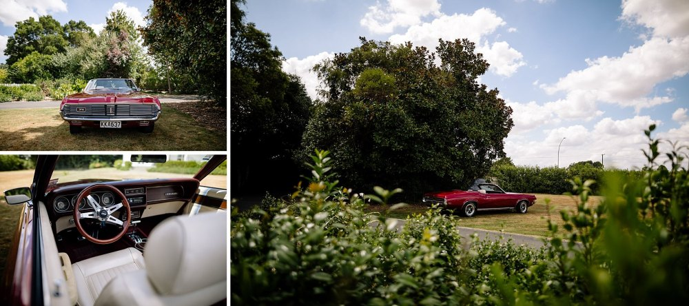 Hamilton NZ Vintage Wedding Car