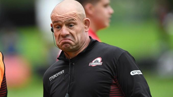 Edinburgh coach Richard Cockerill