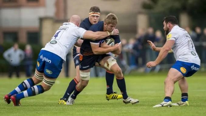 Edinburgh's Jamie Hodgson
