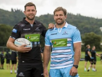 Ryan Wilson and Callum Gibbins
